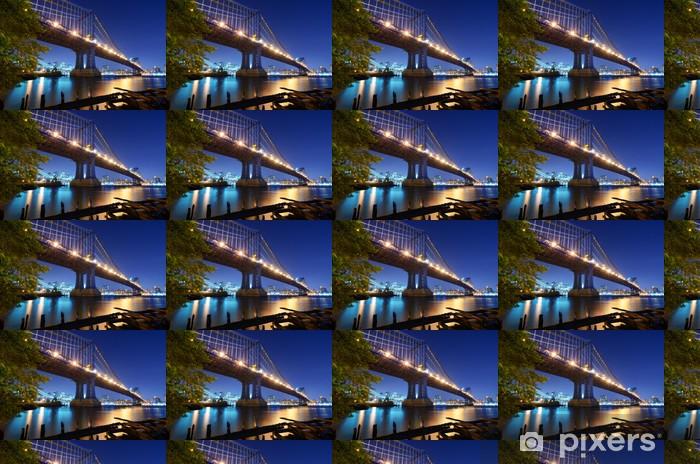 Vinyltapete nach Maß Manhattan-Brücke in New York - Themen