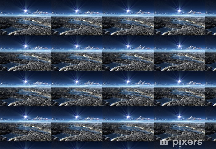Tapeta na wymiar winylowa Alien Planet - Przestrzeń kosmiczna
