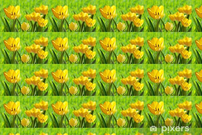 tulips Vinyl Custom-made Wallpaper - Themes