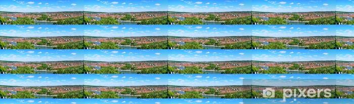 Vinyl behang, op maat gemaakt Panorama Würzburg - Europa