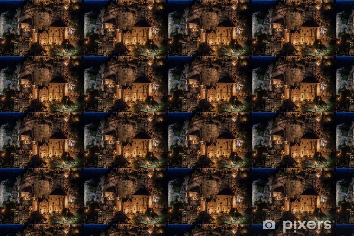 Tapeta na wymiar winylowa Village of Rocamadour - Wakacje
