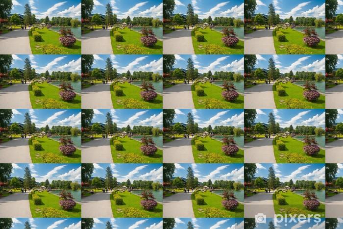 Papier peint vinyle sur mesure Parc bei Bad Wiessee am Tegernsee - Vacances