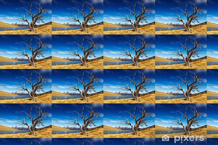 Vinylová tapeta na míru Blue Lagoon, Patagonia, Chile - Amerika