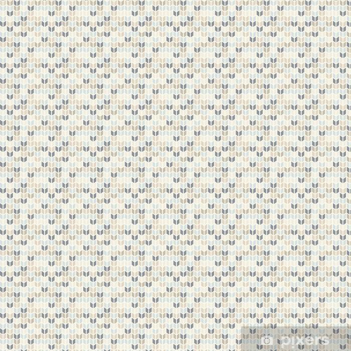 Papel pintado estándar a medida Seamless patrón geométrico en tonos pastel - Temas
