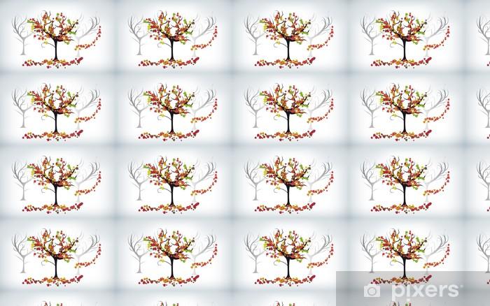 Autunno Vinyl custom-made wallpaper - Seasons
