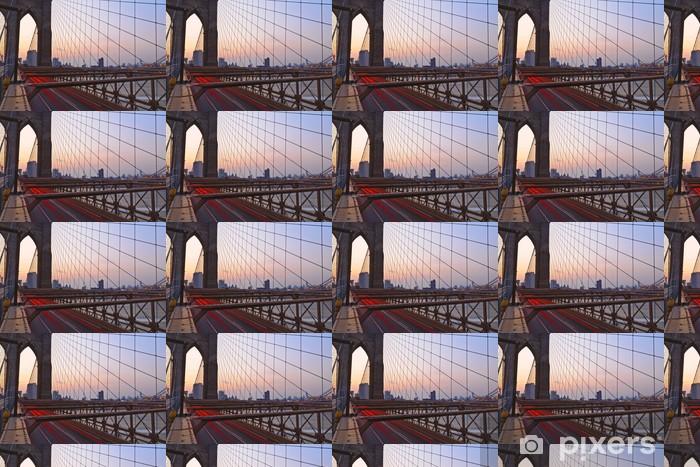 Tapeta na wymiar winylowa Brooklyn Bridge w Nowym Jorku - Brooklyn Bridge