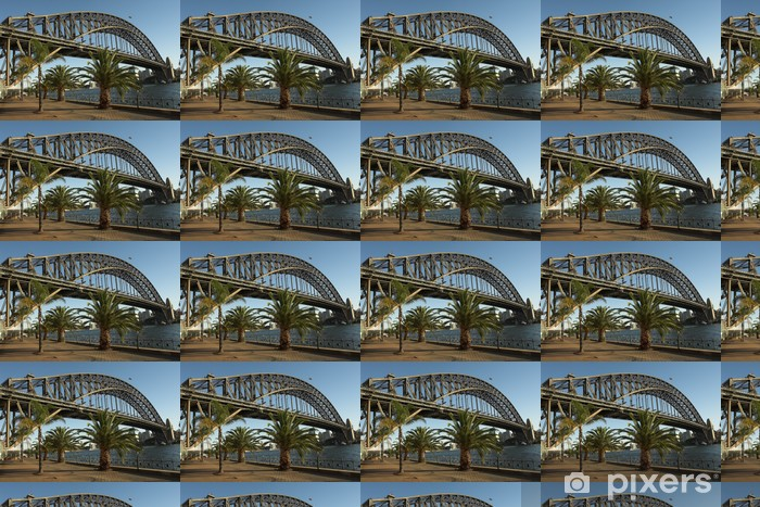 Vinylová tapeta na míru Palmy v Sydney přístav - Infrastruktura