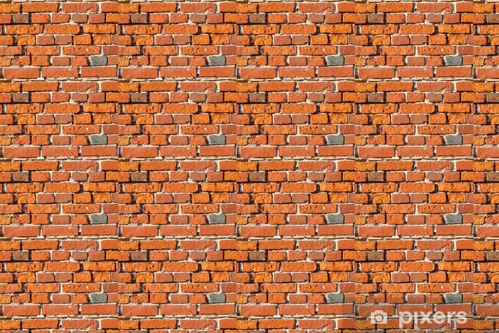 Papier peint vinyle sur mesure Brickwall fond - Monuments