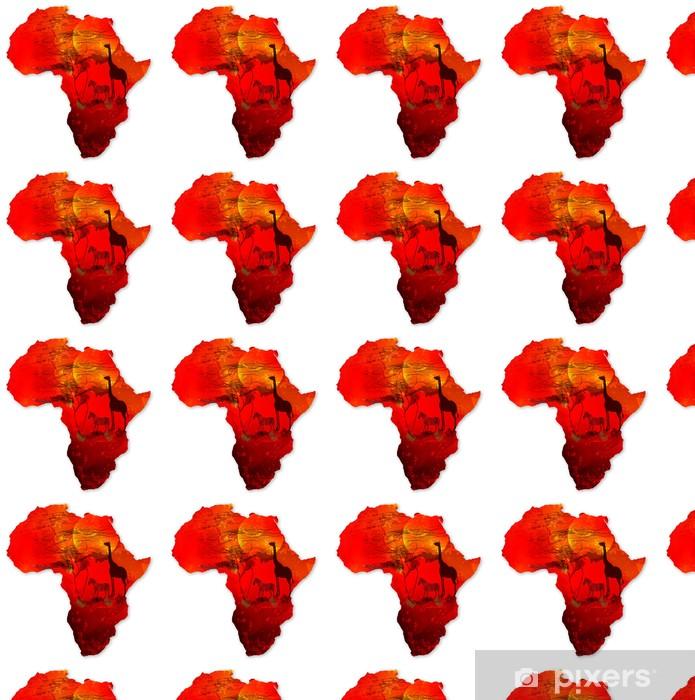 Papier peint vinyle sur mesure Afrique - Afrique