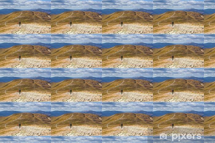 Özel Boyutlu Vinil Duvar Kağıdı Dağlarda Sonbahar - Avrupa