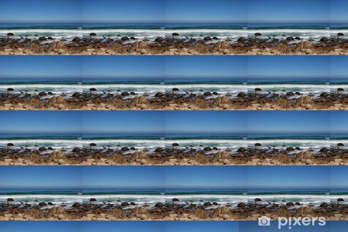 Papier peint vinyle sur mesure Plage le long de la côte sud Afriques - Eau