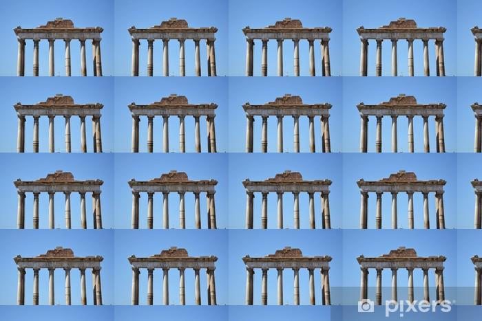 Tapeta na wymiar winylowa Jońskie kolumny na Forum Romanum - Tematy