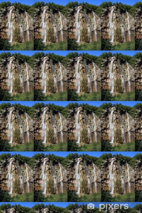 Tapeta na wymiar winylowa Wodospad - Park Narodowy Plitvice - Woda