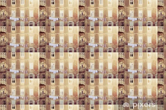 Vinyl behang, op maat gemaakt Mediterrane gevel - Monumenten
