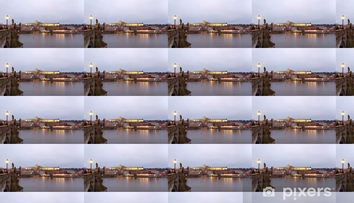 Tapeta na wymiar winylowa Panorama Pragi - Miasta europejskie