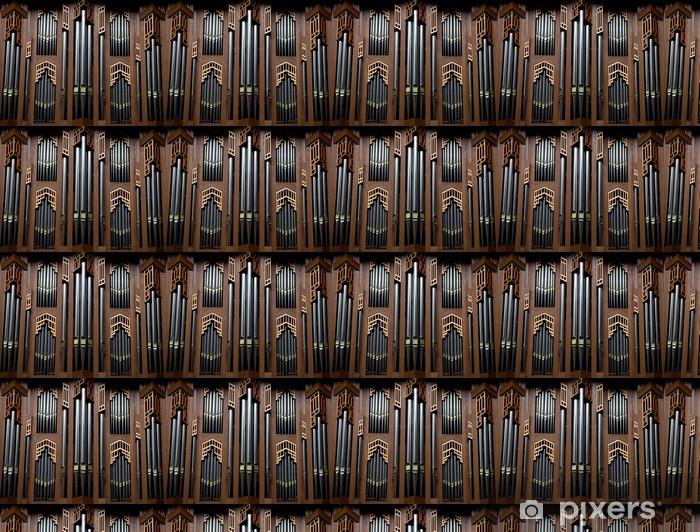 Vinylová tapeta na míru Varhany v katedrále v Bruselu v Belgii - Evropská města
