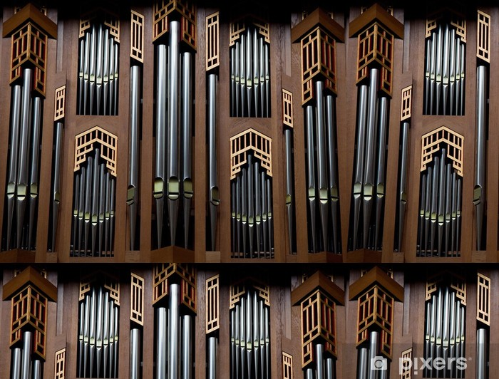 Vinylová Tapeta Varhany v katedrále v Bruselu v Belgii - Evropská města