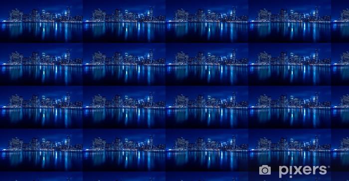 Tapeta na wymiar winylowa New York Skyline w nocy - Tematy
