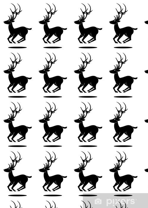 Vinylová tapeta na míru Jelen symbol skákání - Imaginární zvířata