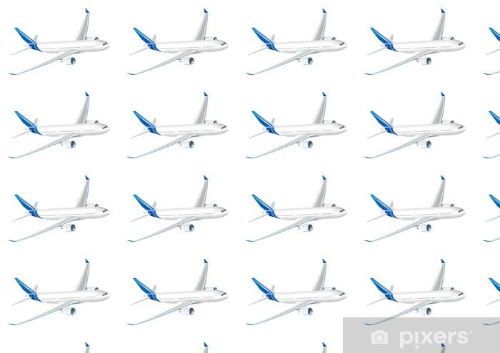 Papier peint vinyle sur mesure Vecteur avion - Dans les airs