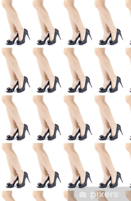 woman female legs with high heels Vinyl custom-made wallpaper - Themes