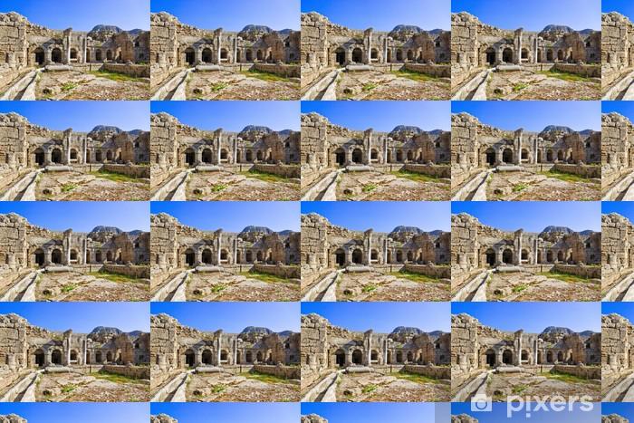 Ruins in Corinth, Greece Vinyl custom-made wallpaper - Greece
