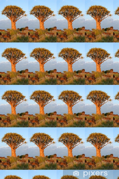 Vinylová tapeta na míru Toulec stromu (Aloe dichotoma), Namibie - Afrika