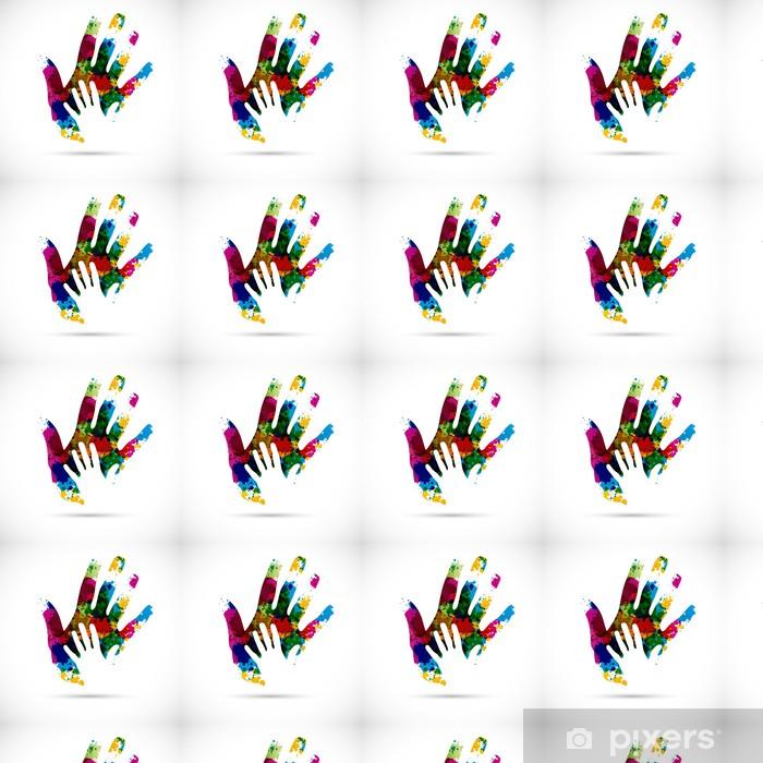 Vinyltapete nach Maß Logo design - Business