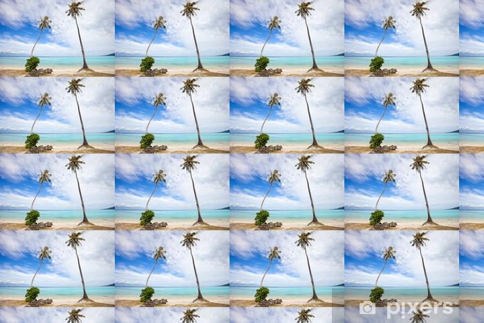 Vinylová tapeta na míru Palmy na pláži - Palmy