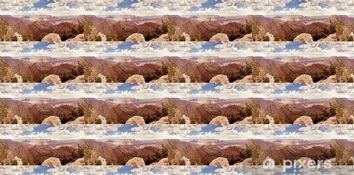 Vinylová tapeta na míru Grand Canyon během slunečného dne - Přírodní krásy