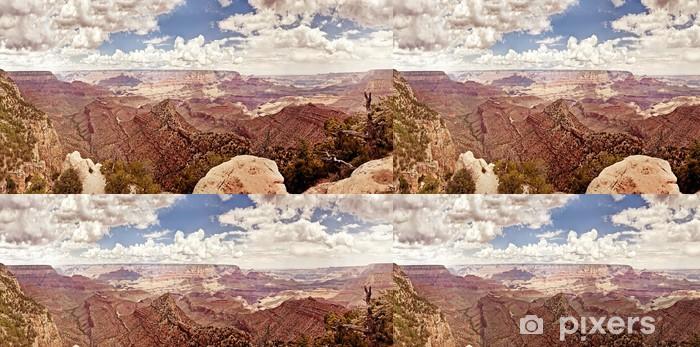 Vinylová Tapeta Grand Canyon během slunečného dne - Přírodní krásy