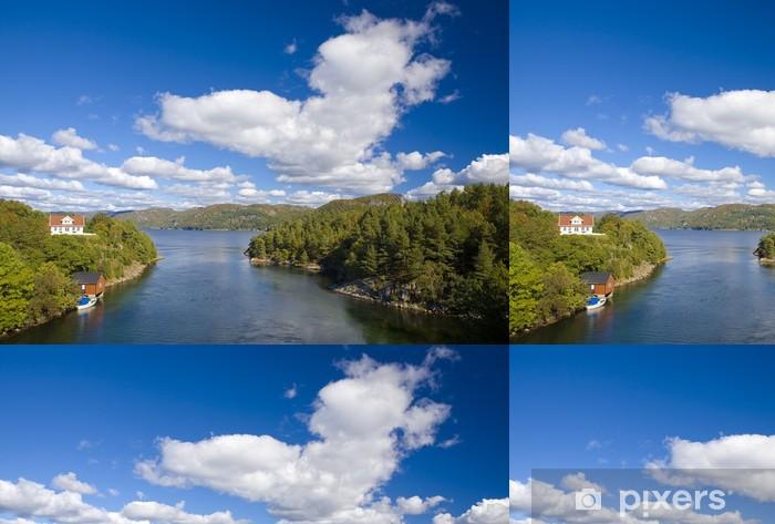 landscape of Southern Norway Vinyl Wallpaper - Europe
