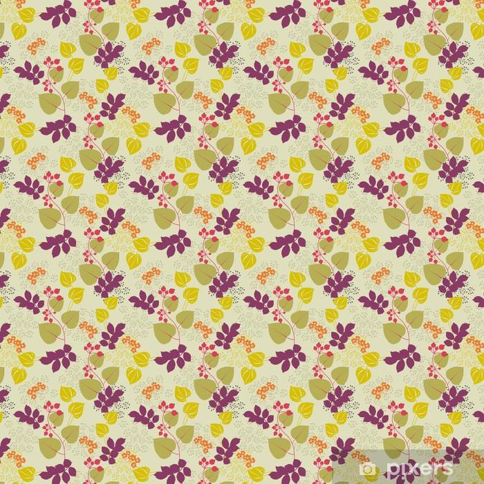 Vinylová tapeta na míru Dekorativní květinové pozadí - Pozadí