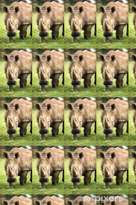 Tapeta na wymiar winylowa Ładowanie Rhino - Ssaki