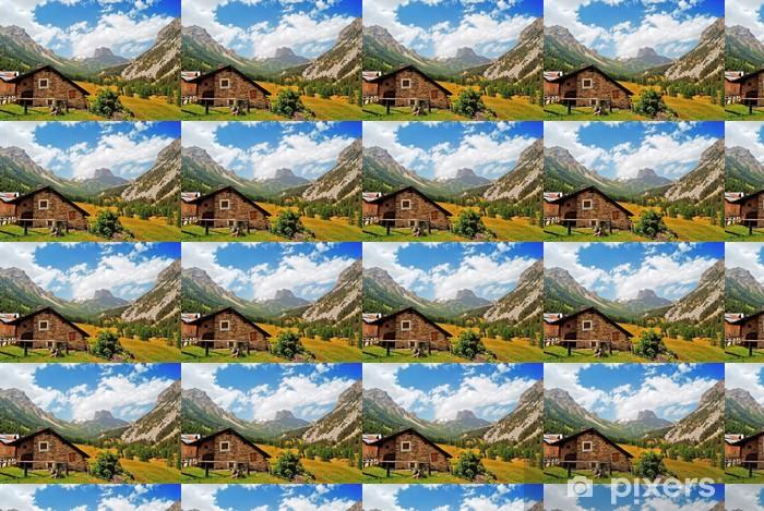 Papier peint vinyle sur mesure France Mountain Trail - Europe