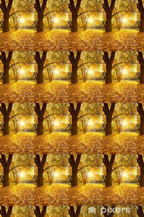Papier peint vinyle sur mesure Herbstzeit - Saisons