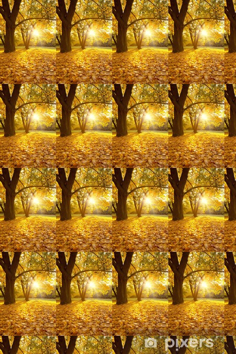 Vinyltapete nach Maß Herbstzeit - Jahreszeiten