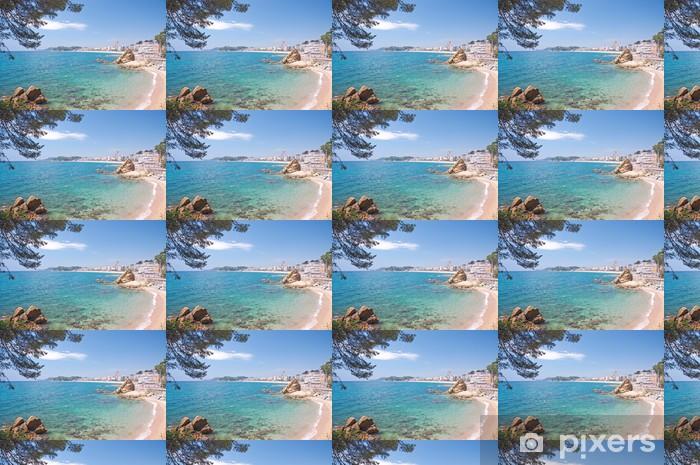 der beliebte Badeort lloret de Mar an der Costa Brava Vinyl Custom-made Wallpaper - Europe
