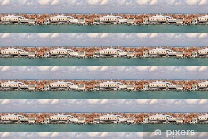 Tapeta na wymiar winylowa Pałac Dożów i Quai de l'Arsenal w Wenecji - Włochy - Miasta europejskie