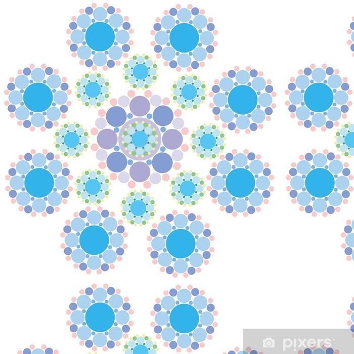 Tapete Turkis Blau Und Lila Schneeflocke Blume Pixers Wir Leben