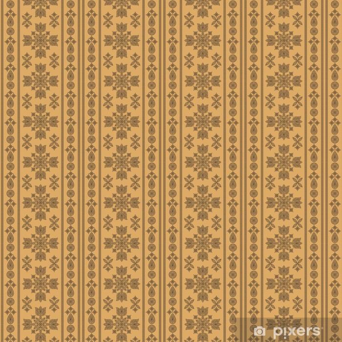 Tapeta na wymiar winylowa Kwiatowy ornament dekoracyjne - Rośliny