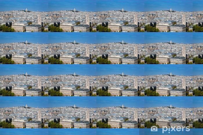 Tapeta na wymiar winylowa Paryż, Francja. Bazylika Sacré-Coeur. Widok z Notre Dame - Miasta europejskie