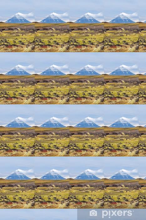 Carta da parati in vinile su misura Kamchatka paesaggio. - Montagne