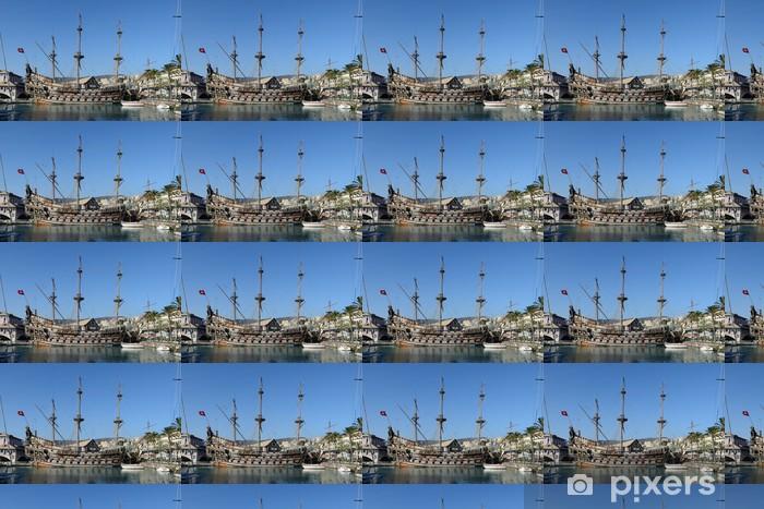 Tapeta na wymiar winylowa Genua, statek piracki - Wakacje