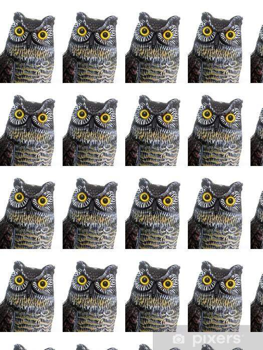 Papier peint vinyle sur mesure Owl Head - Monuments