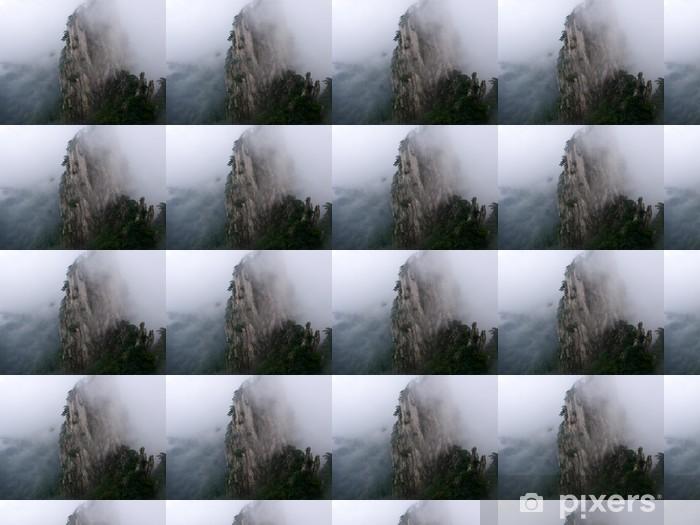 Papier peint vinyle sur mesure Monts Huang Shan, Chine, - Asie