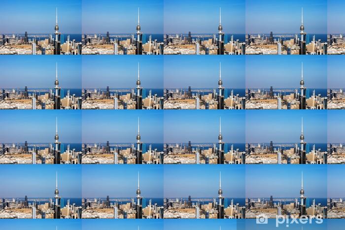 Tapeta na wymiar winylowa Kuwait City objęła współczesnej architektury - Bliski Wschód