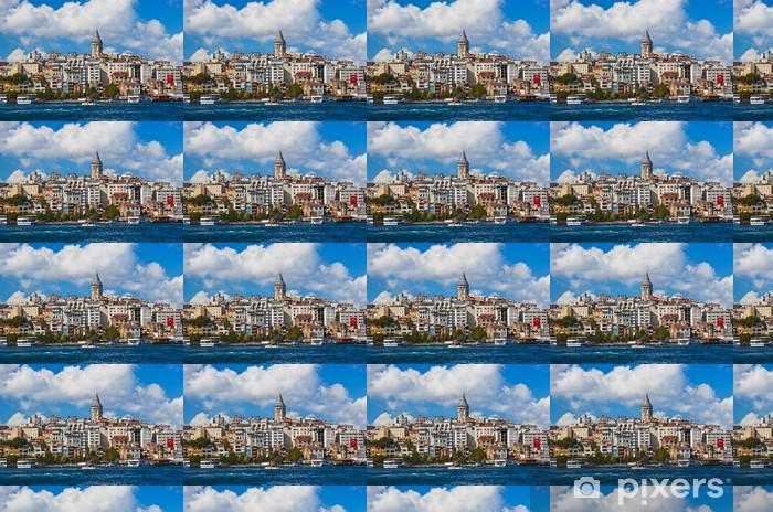 Papel pintado estándar a medida Opinión de Estambul Turquía - Vacaciones