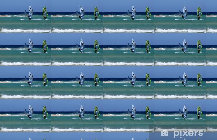 Vinylová tapeta na míru Windsurf aux kanáry - Individuální sporty