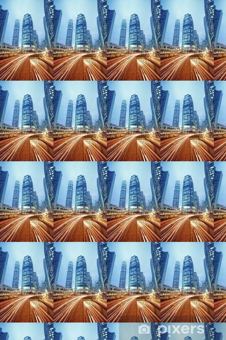 Papier peint vinyle sur mesure Gratte-ciel à Hong Kong - Villes d'Asie